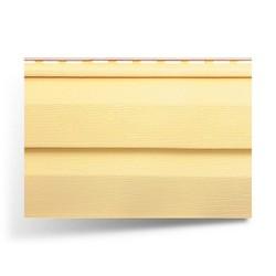 """Виниловый сайдинг Альта-Профиль """"Kanada плюс""""– Желтый (Престиж)"""