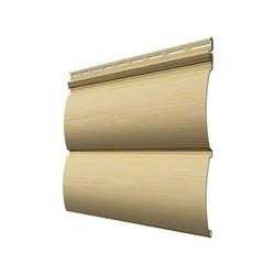 Виниловый сайдинг Docke, профиль Wood Slide – Айва