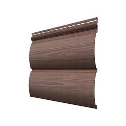 Виниловый сайдинг Docke, профиль Wood Slide – Кедр