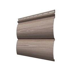 Виниловый сайдинг Docke, профиль Wood Slide – Орех