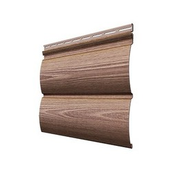 Виниловый сайдинг Docke, профиль Wood Slide – Рябина